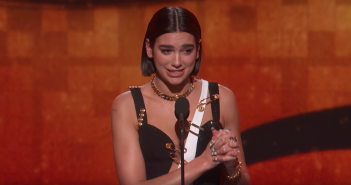 dua lipa grammy awards 2019 retour