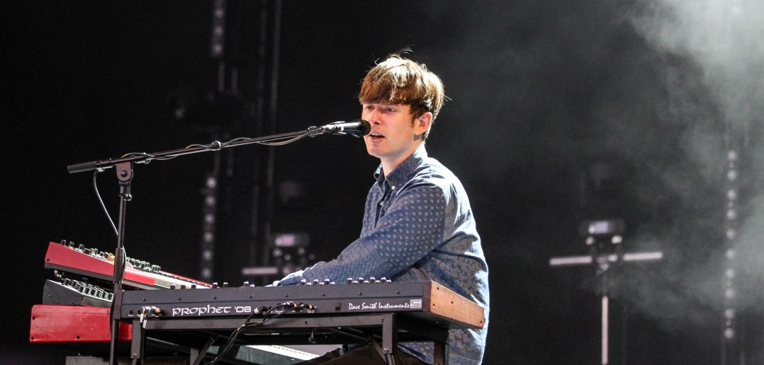 James Blake concert Amsterdam Afas Live November 2019